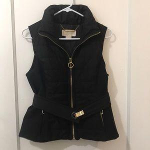 Michael Kors black fashion vest